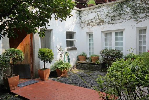 Estupenda Casa Sola Con Excelente Ubicación En San Ángel