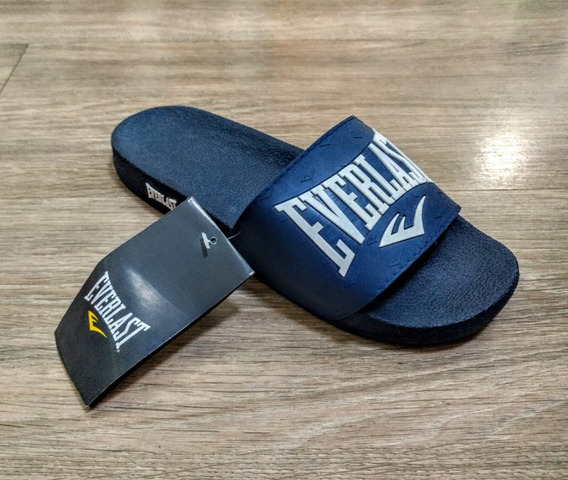 Chinelo Everlast Slide Apoca Azul