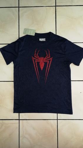 Camiseta Original Marvel Spider Man Talla M Usa