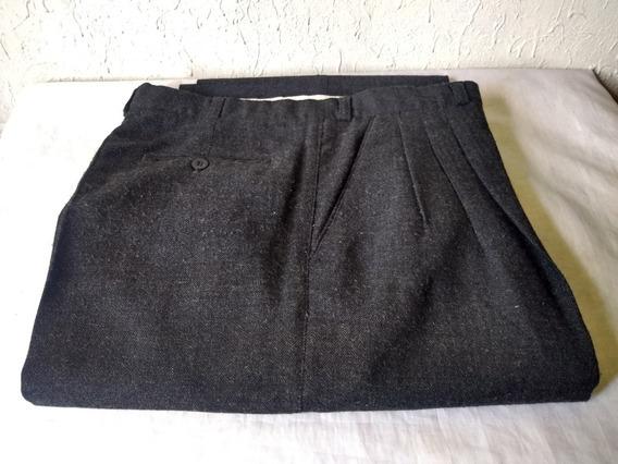 Pantalón De Vestir Hombre Talla 44 Negro