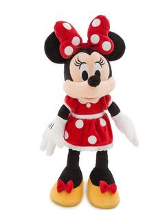 Peluche Minnie Mouse Roja Original Disney Store Grande 49 Cm