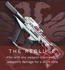 Destiny 2 A Reclusa Smg Competitivo Ps4/pc