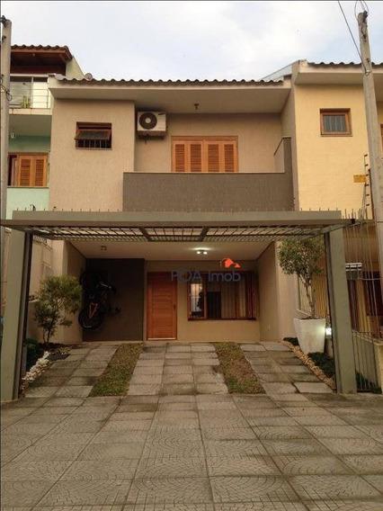 Casa Com 3 Dormitórios À Venda, 158 M² Por R$ 430.000 - Guarujá - Porto Alegre/rs - Ca0595