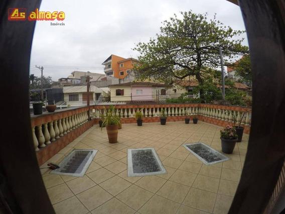 Sobrado Com 4 Dormitórios À Venda, 225 M² Por R$ 750.000.00- Mobiliado Jardim Vila Galvão - Guarulhos/sp - So0165