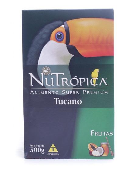 Ração Nutrópica Extrusados & Frutas Tucano 500gr