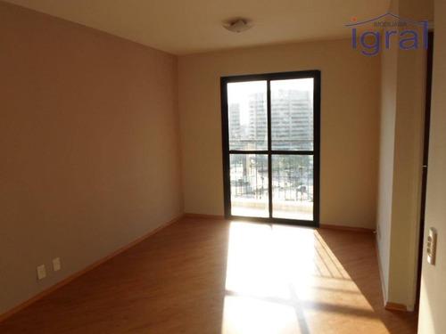 Imagem 1 de 22 de Apartamento Com 2 Dormitórios Para Alugar, 57 M² Por R$ 1.800,00/mês - Vila Guarani (zona Sul) - São Paulo/sp - Ap1340