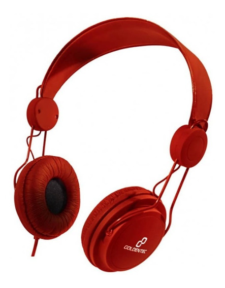 Headset Goldentec Gt Soul Colors Vermelho - Ac1977