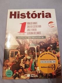 Coleção De Livros Didaticos De História Manual Professor