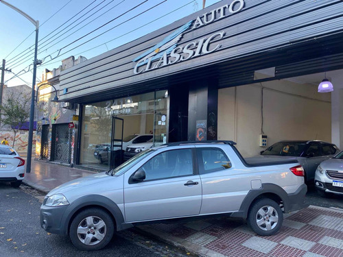 Fiat Strada Working Doble Cabina 1.4 Año 2018 Auto Classic