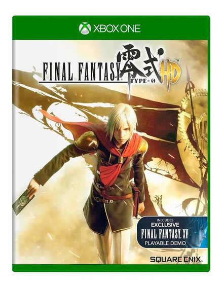 Final Fantasy Type-0 Hd - Xbox One - Midia Fisica Lacrado