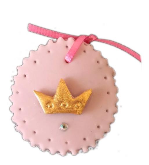 Corsage Distintivo De Princesa De Pasta Baby Shower Bautizo