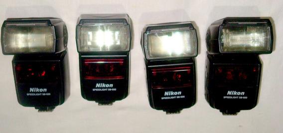 4 Flashes Nikon Sb 600 Reparo/peças