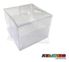 25 Caixas De Acetato 12x12x9 Cm Presentes Embalagem Produtos