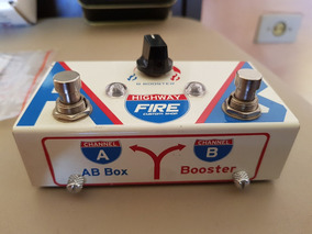 Pedal Fire De Guitarra Highway Ab Box E Booster