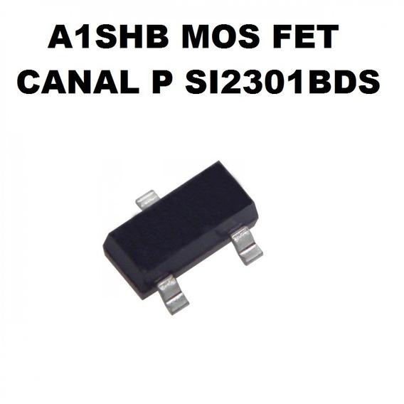 A1shb Si2301bds Canal P Sot23-3 10 Unidades