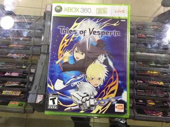 Tales Of Vesperia - Original Xbox360 Novo