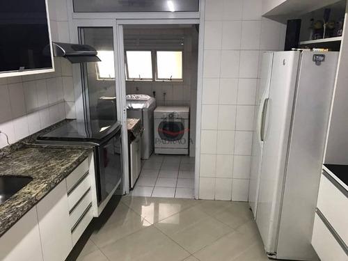 Apartamento Em Condomínio Padrão Para Venda No Bairro Vila Regente Feijó, 3 Dorm, 1 Suíte, 2 Vagas, 121 M - 1663