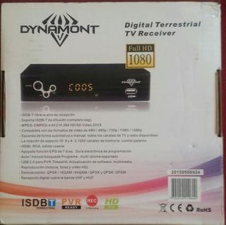 Receptor Tv Digital Abierta Gratuita Deco Y Antena Exterior.