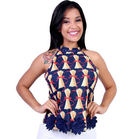 Blusa Feminina Estampada Ellabelle - Asya Fashion