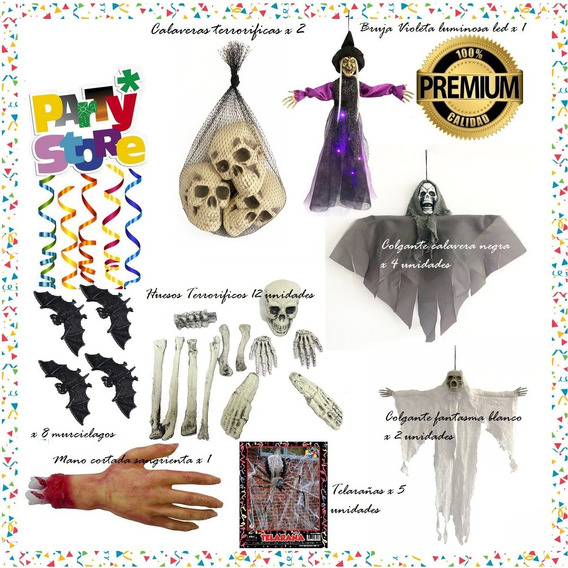Party Store - Combo Halloween - Cotillon-