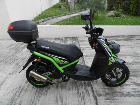 Motor Uno Fatty 175 Scooter Pasola