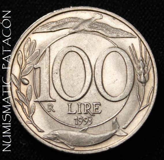 Moneda 100 Liras Italia 1993 - Sin Circular