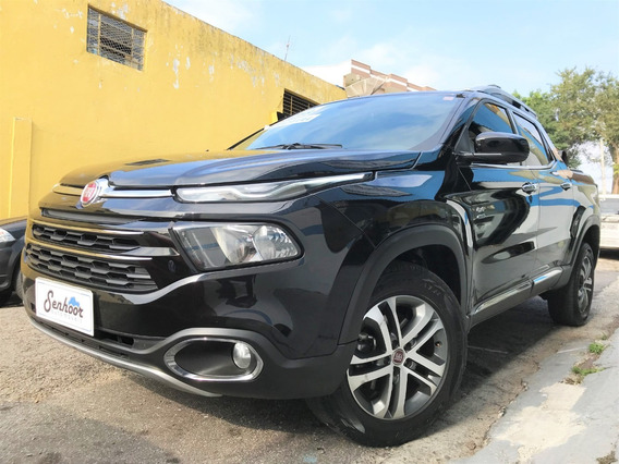 Fiat Toro Volcano 2.0 Turbo Diesel At 4x4 2018 - Preto