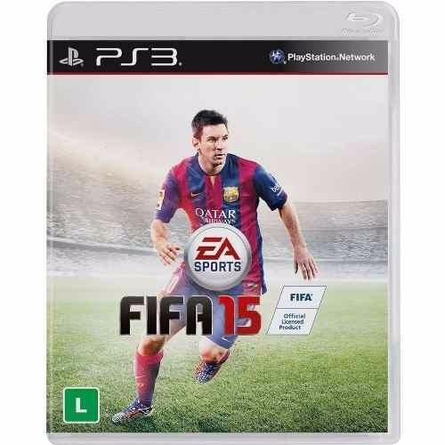 Fifa 2015 Para Ps3! Mídia Física Lacrada! Jogo Novo!