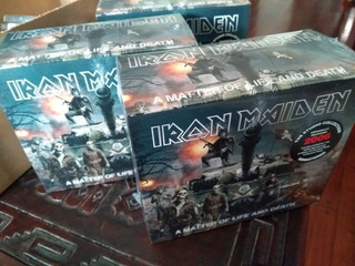 Iron Maiden - A Matter Of Life & Death Collectors Box