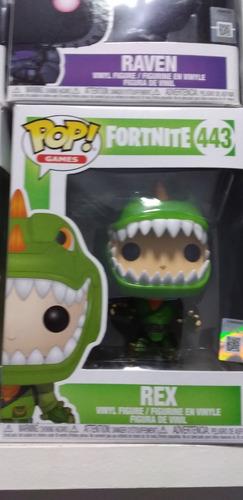 Funko Pop Fortnite Rex. Original. Casi Sin Usar.