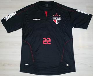 Camisa Jogo De Goleiro São Paulo F.c. 2010 Reebok #22 Bosco