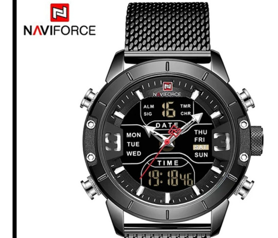 Relógio Naviforce Analógico E Digital