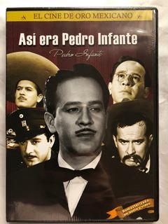 Asi Era Pedro Infante (dvd)