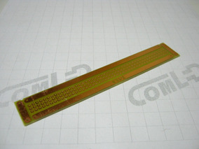 Placa Circuito Impresso Ilhada Universal 12,9x2cm Pcb