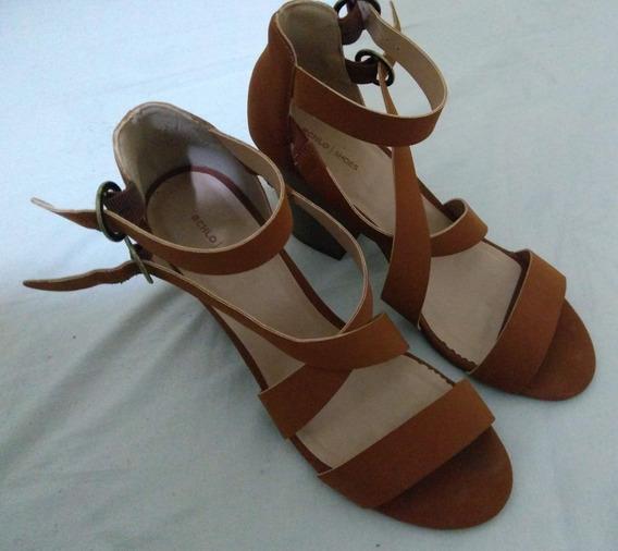 Sandália Salto Alto Grosso Rchlo Shoes
