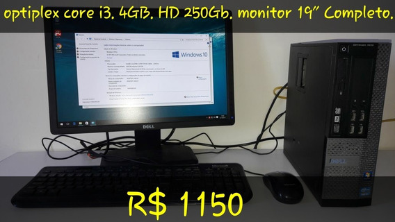 Computador Dell Optiplex Core I3