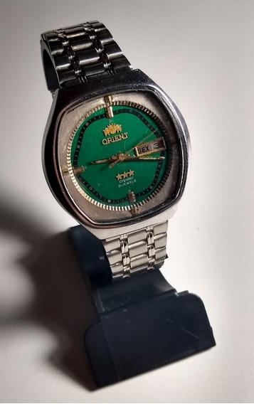 Relógio Masculino Orient Verde G 469780-4a Ca