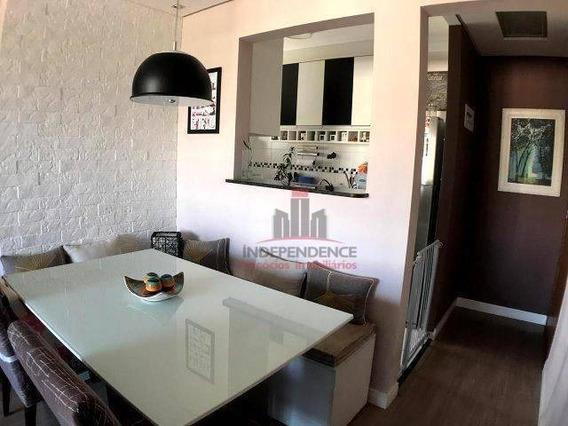 Apartamento À Venda, 60 M² Por R$ 265.000,00 - Parque Industrial - São José Dos Campos/sp - Ap3119