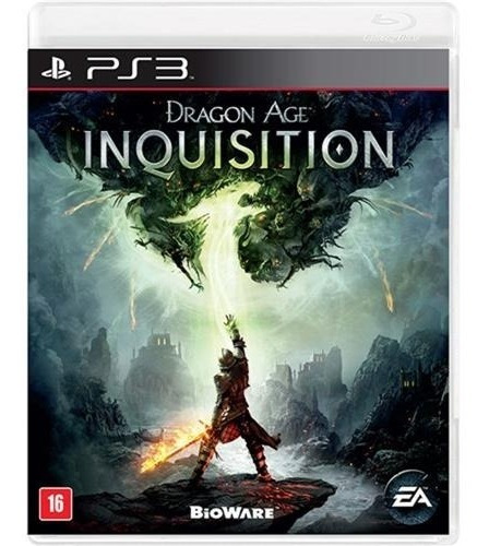 Jogo Dragon Age Inquisition - Ps3 Mídia Física Usado