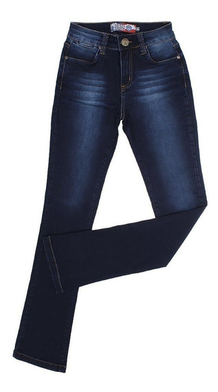 Calça Feminina Jeans Boot Cut Escura Rodeo Western 22654