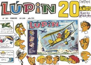 Revista Lupin + Pinlu - Coleccion Completa + Extras 550 Ejem