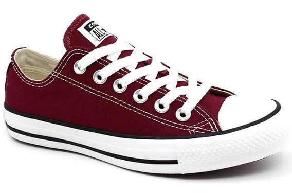 Tênis All Star Converse Original Ct0001 Bordô Loja Pixolé