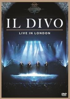 Dvd Il Divo - Live In London (978516)