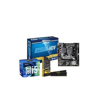 Kit Upgrade I5 7400, Placa B250m-hdv, 16gb (2x8) Ddr4 Lpx