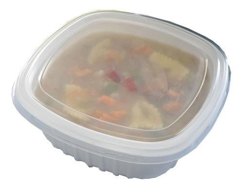 Marmita Pote 400ml Caldo Sopa Freezer Microondas G308 100uni