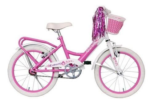 Bicicleta Rodado 16 Sasha Color Rosa Belgor