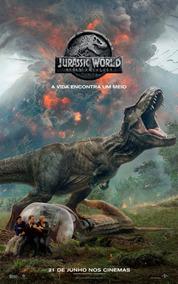 Poster Do Filme: Jurassic World - Reino Ameaçado