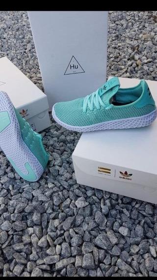 Tênis adidas Hu Verde