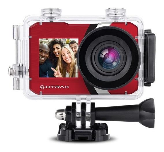 Câmera De Aventura Xtrax Selfie 4k