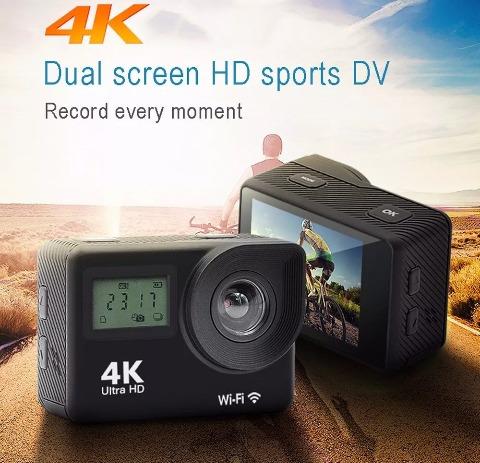 Câmera Action Go Câmera 4k Pro Wifi